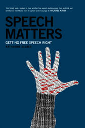 Speech Matters by Katharine Gelber