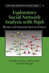 Exploratory Social Network Analysis with Pajek by Wouter de Nooy