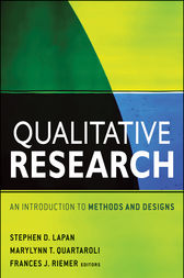 Qualitative Research by Stephen D. Lapan