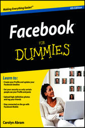 Facebook For Dummies® by Carolyn Abram