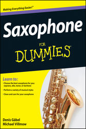 Saxophone For Dummies by Denis Gäbel