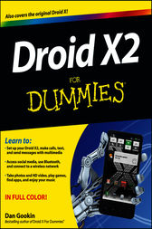 Droid X2 For Dummies by Dan Gookin