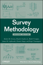 Survey Methodology by Robert M. Groves