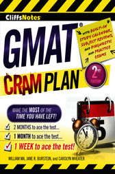 CliffsNotes GMAT Cram Plan by William Ma