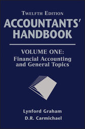 Accountants' Handbook, Financial Accounting and General Topics by D. R. Carmichael