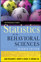Introductory Statistics for the Behavioral Sciences by Joan Welkowitz