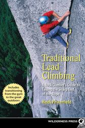 Traditional Lead Climbing by Heidi Pesterfield
