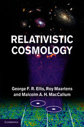 Relativistic Cosmology by George F. R. Ellis