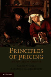 Principles of Pricing by Rakesh Vohra