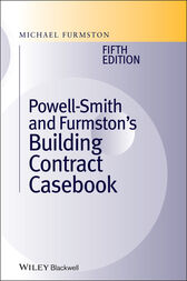 Building Contract Casebook by Michael Furmston