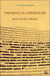 Thinking in Literature: Joyce, Woolf, Nabokov by Anthony Uhlmann