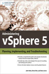 Administering vSphere 5 by John Hales
