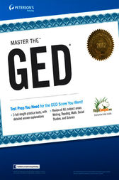 Master the GED 2013
