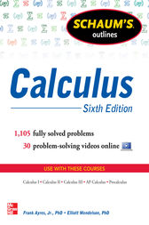 Schaum's Outline of Calculus, 6th Edition
