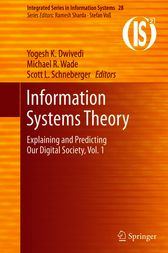 Information Systems Theory by Yogesh K. Dwivedi