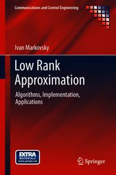 Low Rank Approximation by Ivan Markovsky