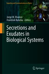 Secretions and Exudates in Biological Systems by Jorge M. Vivanco