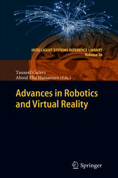 Advances in Robotics and Virtual Reality by Tauseef Gulrez