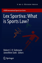 Lex Sportiva: What is Sports Law? by Robert C.R. Siekmann