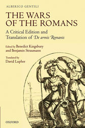 The Wars of the Romans by Alberico Gentili
