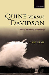 Quine versus Davidson by Gary Kemp