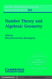Number Theory and Algebraic Geometry by Miles Reid