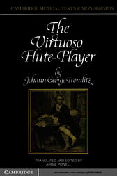 The Virtuoso Flute-Player by Johann George Tromlitz
