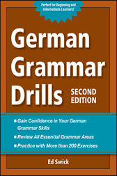 German Grammar Drills by Ed Swick