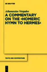 The Homeric Hymn to Hermes by Athanassios Vergados