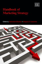 Handbook of Marketing Strategy by Venkatesh Shankar