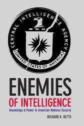 Enemies of Intelligence by Richard K. Betts