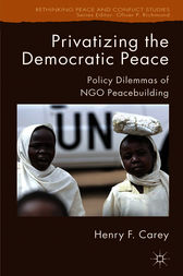 Privatizing the Democratic Peace by Henry F. Carey
