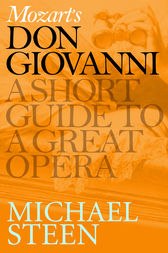 Mozart's Don Giovanni by Michael Steen
