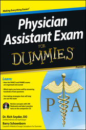 Physician Assistant Exam For Dummies by Barry Schoenborn