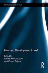 Law and Development in Asia by Gerald Paul McAlinn