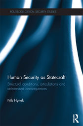 Human Security as Statecraft by Nik Hynek