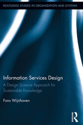 Information Services Design by Fons Wijnhoven