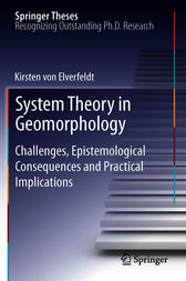 System Theory in Geomorphology by Kirsten von Elverfeldt