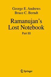 Ramanujan's Lost Notebook by George E Andrews
