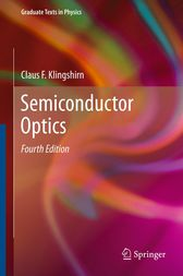 Semiconductor Optics by Claus F. Klingshirn