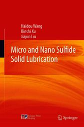 Micro and Nano Sulfide Solid Lubrication by Haidou Wang