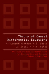 THEORY OF CAUSAL DIFFERENTIAL EQUATIONS by S. Leela