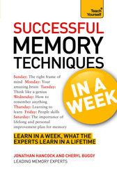 Successful Memory Techniques in a Week by Jonathan Hancock