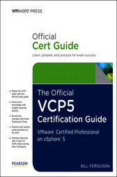The Official VCP5 Certification Guide by Bill Ferguson
