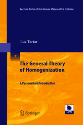The General Theory of Homogenization by Luc Tartar