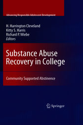 Substance Abuse Recovery in College (ebook) by H. Harrington Cleveland ...