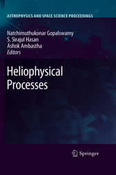 Heliophysical Processes by Natchimuthuk Gopalswamy