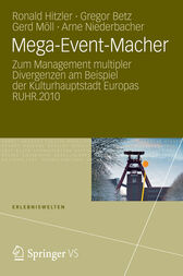 Mega-Event-Macher by Ronald Hitzler