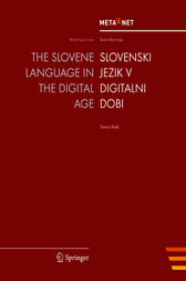 The Slovene Language in the Digital Age by Georg Rehm