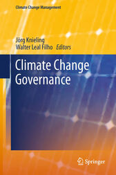 Climate Change Governance by Jörg Knieling